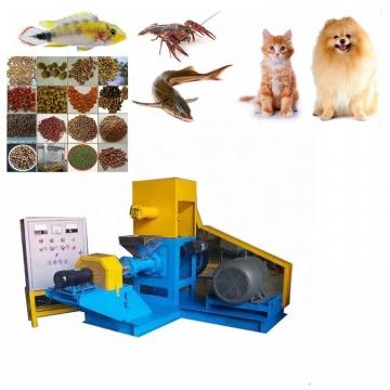 Automatic Dry Extruded Pet Food Manufacturing Machine